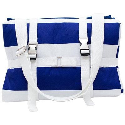 Palm Beach Crew Brilliant Blanket - Cabana Blue Stripes - 1 ct.