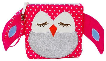Nikiani My Fist Buddy Snack Bag Stella - Pink Polka Dot Owl