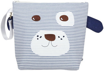 Nikiani Forever Young Collection Wet Bag & Backpack - Scout Blue & White Doggy