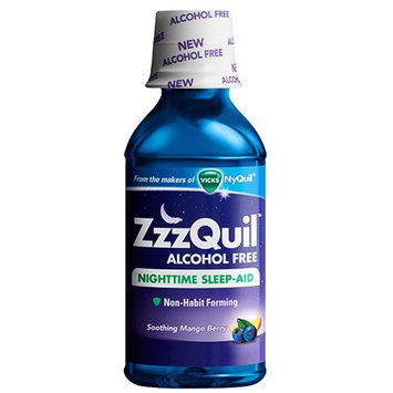 ZzzQuil Soothing Mango Berry Alcohol Free Liquid Sleep Aid