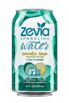 Zevia Cucumber Lemon Sparkling Water