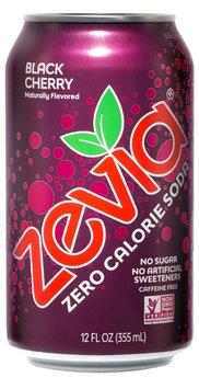 Zevia Zero Calorie Soda Black Cherry