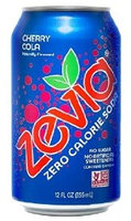 Zevia Zero Calorie Cherry Cola Soda Soft Drink