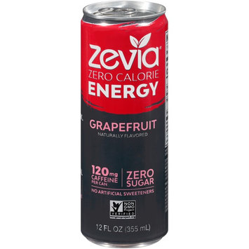 Zevia Zero Calorie Grapefruit Energy Drink