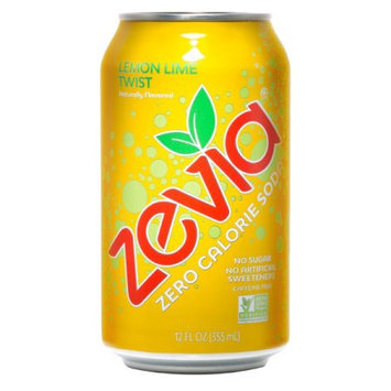 Zevia Zero Calorie Lemon Lime Twist Soda Soft Drink