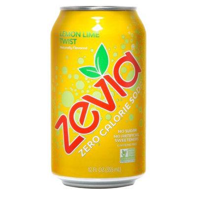 Zevia Zero Calorie Lemon Lime Twist Soda Soft Drink