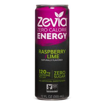 Zevia Zero Calorie Raspberry Lime Energy Drink