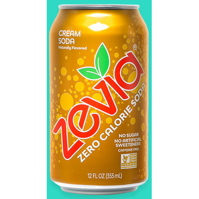 Zevia Zero Calorie Cream Soda Soft Drink