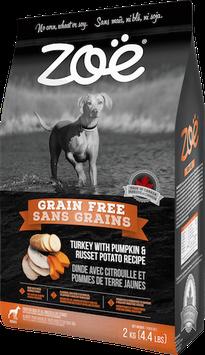 Zoe Grain Free Turkey With Pumpkin & Russet Potato Recipe