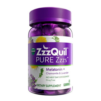 ZzzQuil™ PURE Zzzs™ Melatonin Gummies