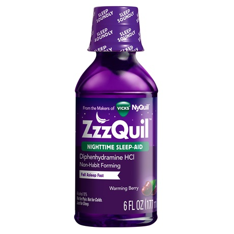 ZzzQuil™ Warming Berry Liquid