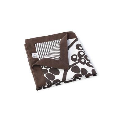 Oilo Play Blanket Modern Berries Brown