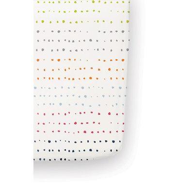 Infant Petit Pehr 'Painted Dots' Cotton Crib Sheet