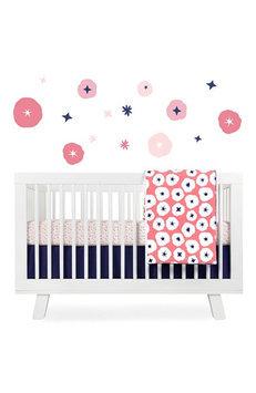 Million Dollar Baby Babyletto 5-Piece Crib Bedding Set (In Bloom)