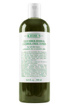 Kiehl's Since Kiehl's Cucumber Herbal Alcohol-Free Toner No Color 4.2 oz