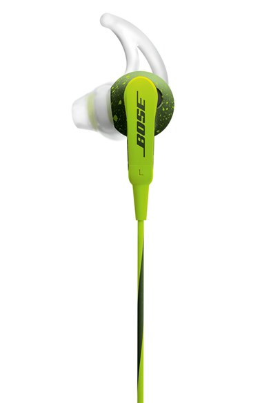 Bose SoundSport Sweat & Weather-Resistant In-Ear Headphones With 3-Button In-Line Remote and Carry Case For iOS Devices