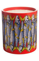 Fornasetti - Large Scented Candle - Sardine Rosso