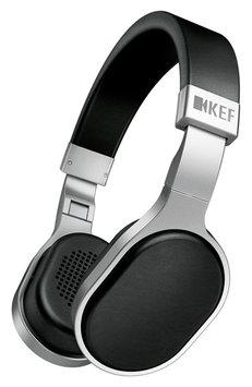 KEF M500 Hi-Fi Headphones w/ Mic & Remote - Aluminum/Black