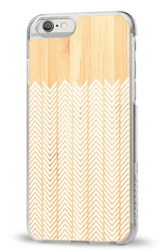 Recover 'White Feather' Wood iPhone 6 Case