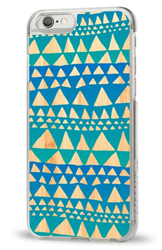 Recover Iphone 6 Case Blue Trangle Bamboo, One Size