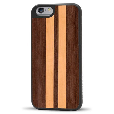 Recover Iphone 6 Case Wenge And Maple Stripe, One Size