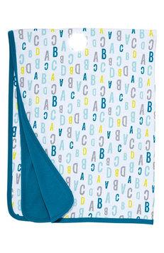 Infant Skip Hop 'ABC 123' Reversible Receiving Blanket