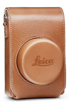Leica Cognac Leather Camera Bag For D-Lux