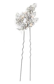 Wedding Belles New York 'Eloise' Crystal Hairpin - Metallic