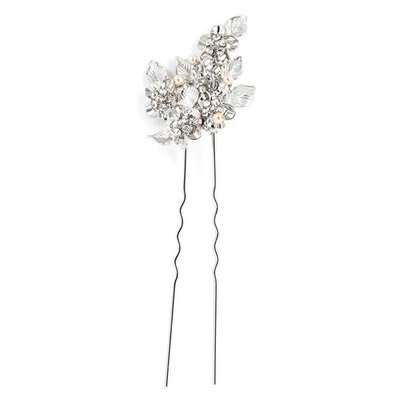 Wedding Belles New York 'Eloise' Crystal Hairpin - Metallic