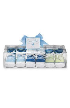 Mud Pie Little Man Infant Sneaker Socks