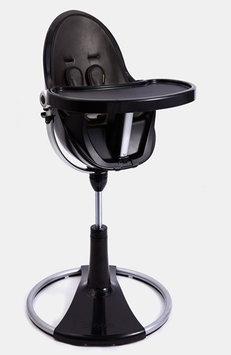 Bloom Fresco Chrome Contemporary Chair Frame - Black
