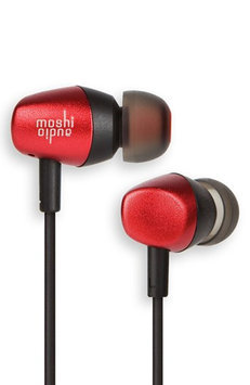 Moshi Mythro Red Earbuds with Mic and Strap