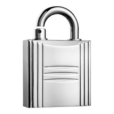 HERMES Silver-Tone Refillable Lock Spray 0.25oz.