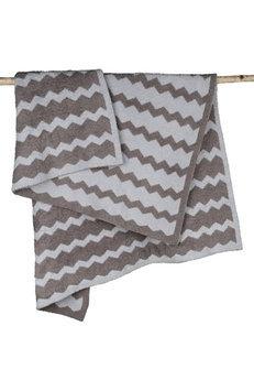Barefoot Dreams CozyChic Chevron Blanket