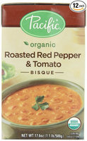 Pacific Natural Foods Organic Roasted Red Pepper And Tomato Bisque