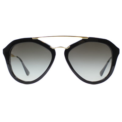 Prada PR 12QS - Black / Grey Gradient (1AB0A7)
