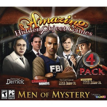 Legacy Interactive PC Game Hidden Object: Men of Mystery
