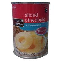 market pantry Market Pantry Sliced Pineapple in 100% Juice 20-oz.
