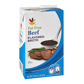 Ahold Fat Free Beef Flavored Broth