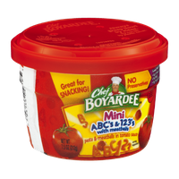 Chef Boyardee Mini ABC's & 123's with Meatballs