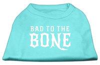 Ahi Bad to the Bone Dog Shirt Aqua XXL (18)