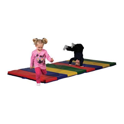 Early Childhood Resources ECR4Kids 2'' Tumbling Mat - 4 Section (4'x8')