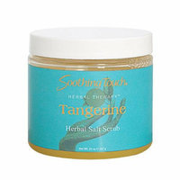 Soothing Touch & Sunshine Spa Soothing Touch Salt Scrub Tangerine 20 oz