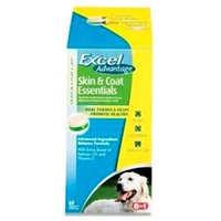 United Pet Group Eio 860506 Excel Advantage Skin and Coat Tabs 60 Count