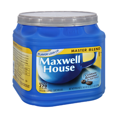Maxwell House Master Blend Mild Roast Ground Coffee