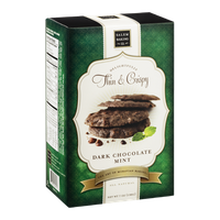 Salem Baking Co. Delightfully Thin & Crispy Cookies Dark Chocolate Mint