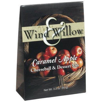 Wind & Willow Caramel Apple Cheeseball, 3.3-Ounce Boxes (Pack of 6)