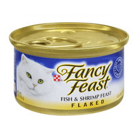Purina Fancy Feast Fish & Shrimp Feast Flaked Gourmet Cat Food