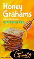 Pamela's Products GRAHAMS, HONEY, GF, (Pack of 6)