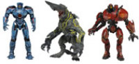 NECA Pacific Rim 7 inch Scale Deluxe Action Figure Series 1 Complete Set